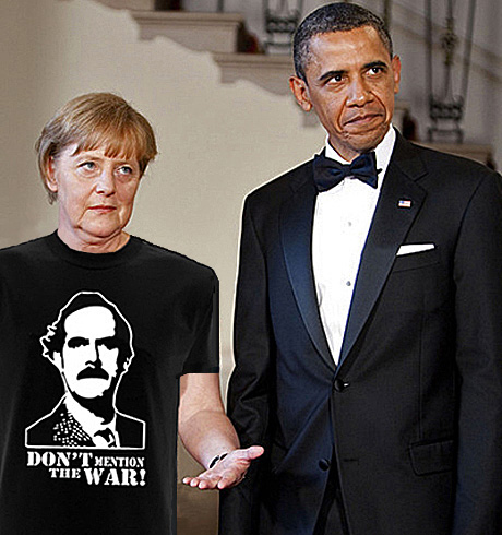 Angela Merkel och Barack Obama.