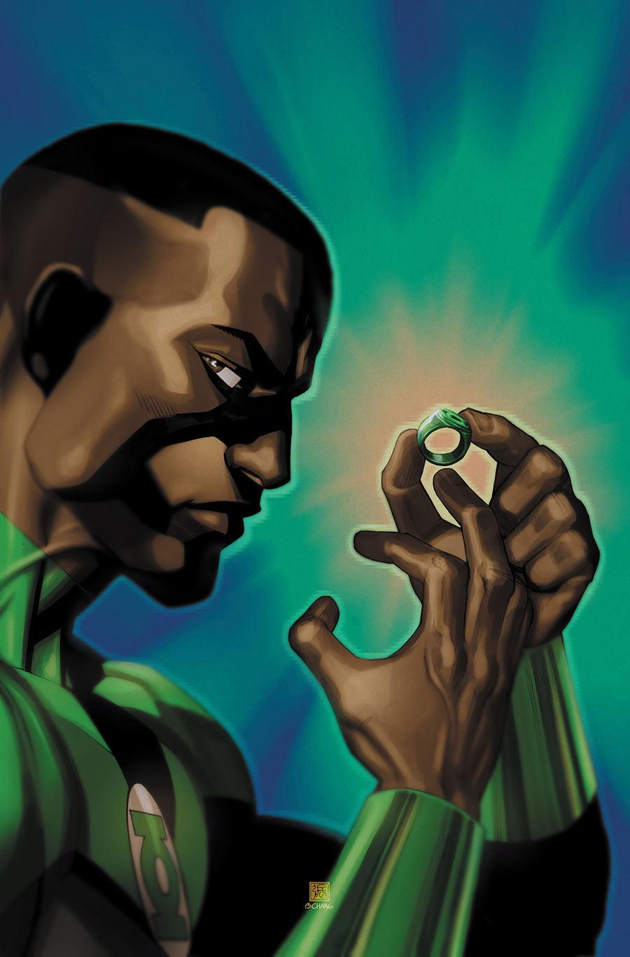 ghettomanga green lantern stewart bernard chang on hell yes