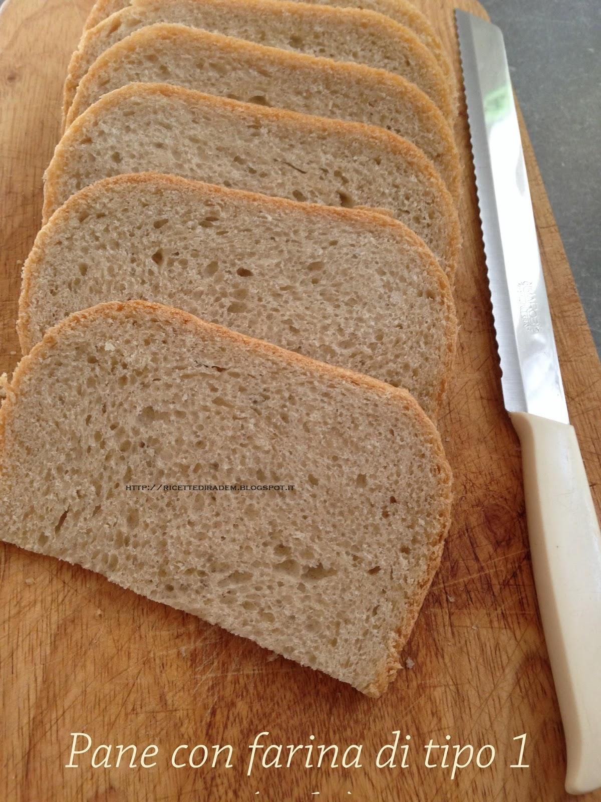 Preferenza L'angolo delle delizie: Pane con farina di tipo 1 MX19