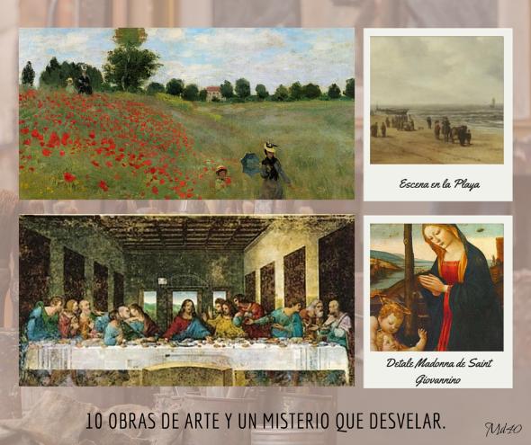10 obras de arte y un misterio que desvelar leonardo da vinci monet