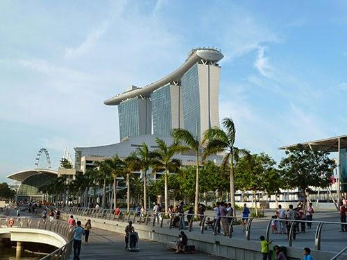 hotel marina bay, skypark marina bay, kawasan marina bay, tempat wisata di singapore, tempat wisata di singapura,
