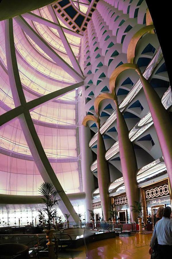 Inside Burj Al Arab Dubai