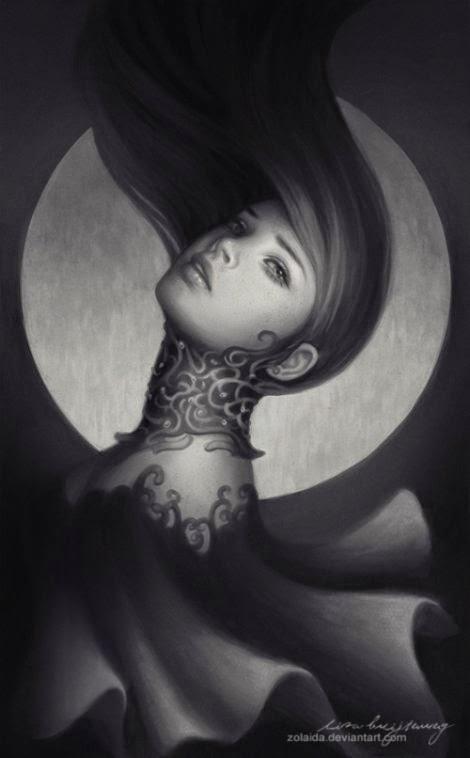 Lisa Buijteweg zolaida deviantart ilustrações fantasia mulheres
