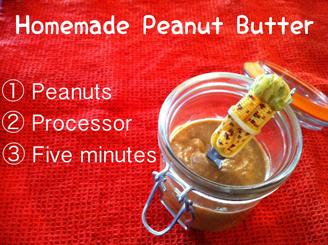 homemade peanut butter, make your own peanut butter