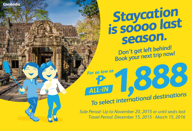 Cebu Pacific Promo Ticket International Destination