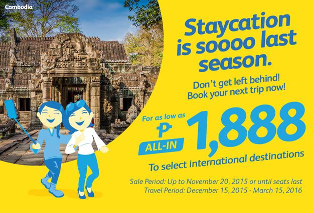 Cebu Pacific Promo Ticket International Destination
