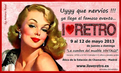 Feria I Love Retro 2013 (9-13 Mayo en Madrid)