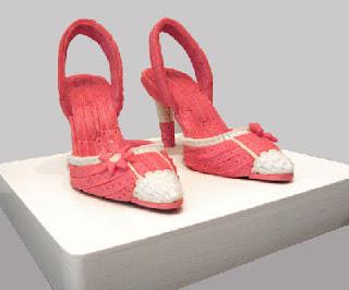 gum sculpture heels