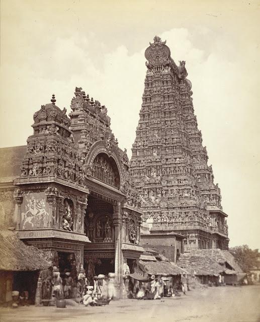ராமேஸ்வரம் -பழைய படங்கள் Madurai+gopuram+old