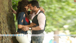 Cocktail Movie Review - featuring Saif Ali Khan, Hot Deepika Padukone, Diana Penty