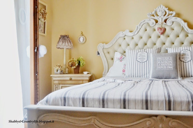 Bed Makeover Edition!- Shabby&CountryLife.blogspot.it