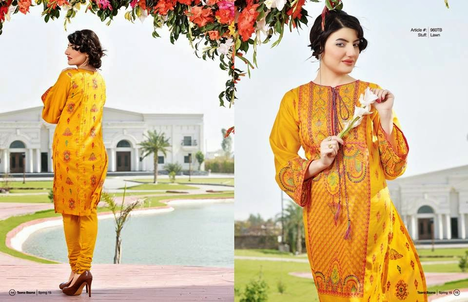 Taana baan summer lawn dress collection