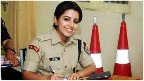 Wow Merin Joseph Polis Wanita Tercantik Sekali di India