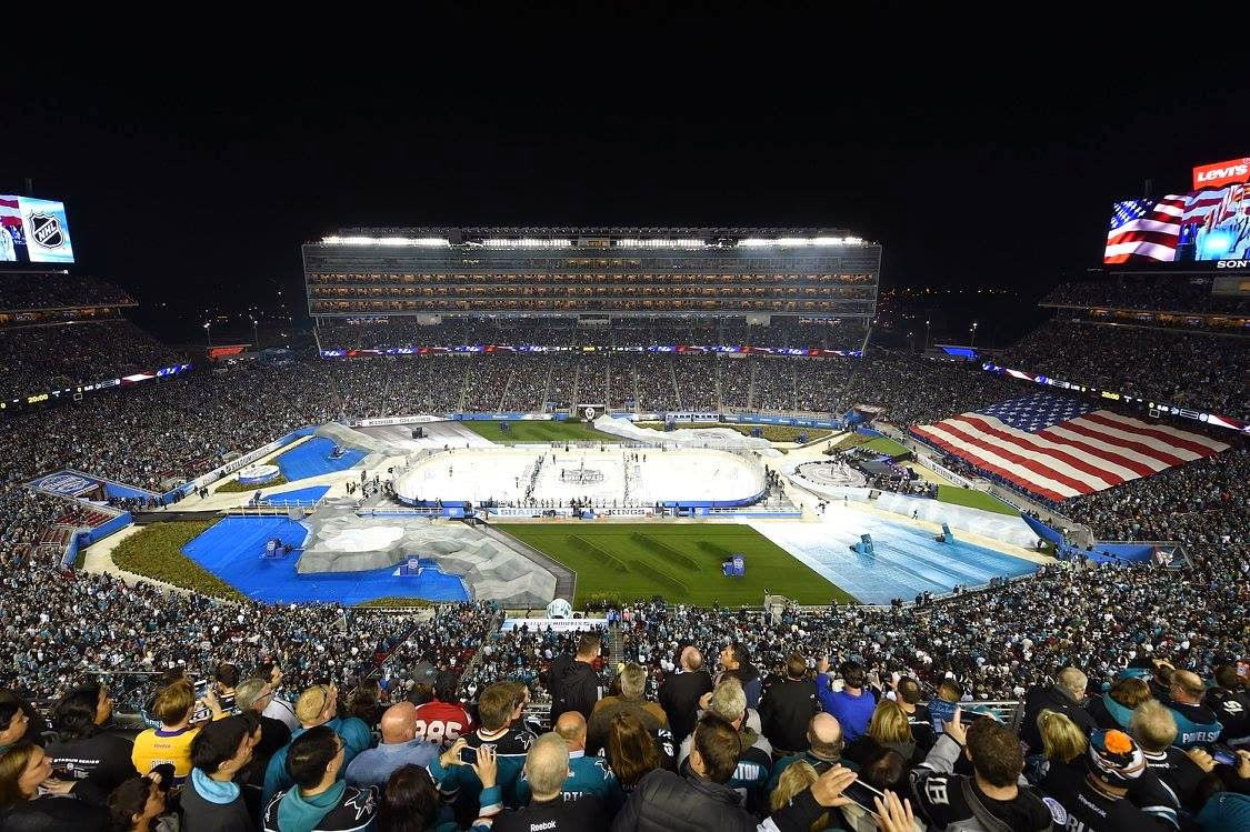 Over 70,000 packed an outdoor hockey game, could the same be expected for WrestleMania?