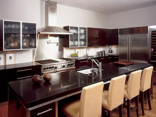 Dise o y decoraci n de la casa lindas cocinas modernas for Barras para cocina modernas