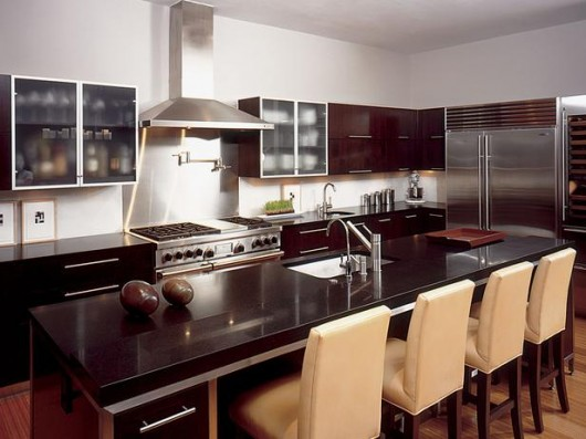 Dise o y decoraci n de la casa lindas cocinas modernas for Barras de cocina modernas