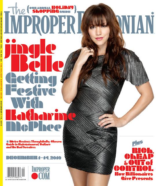 Katharine McPhee - Improper Bostonian Magazine