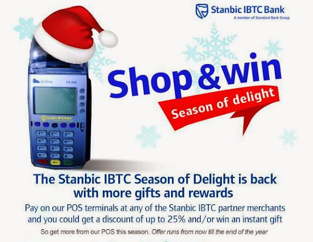 Shop and win Big with Stanbic bank. Win great prizes.