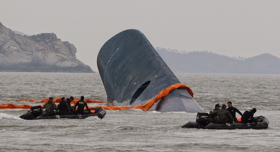 New Images Of South Korea Ferry Sinking Titanic