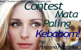 Contest Mata Paling Kebabom! by Cik Farzana Farzanto