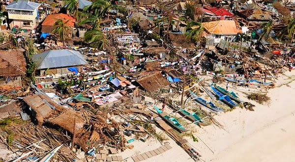 Kekuatan Topan Haiyan Disetarakan Sama Tsunami Aceh