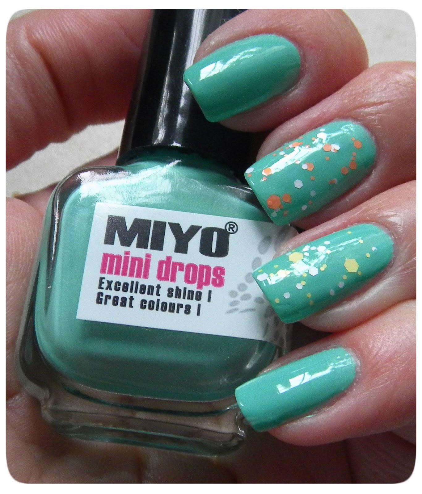 Poniedziałki z Miyo Mini Drops 156 Mintcream i Life 13 i 15