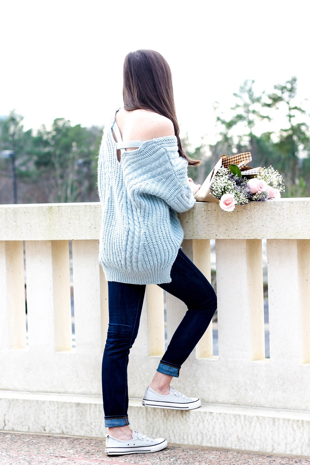 Carolina Sky Blue Sweater