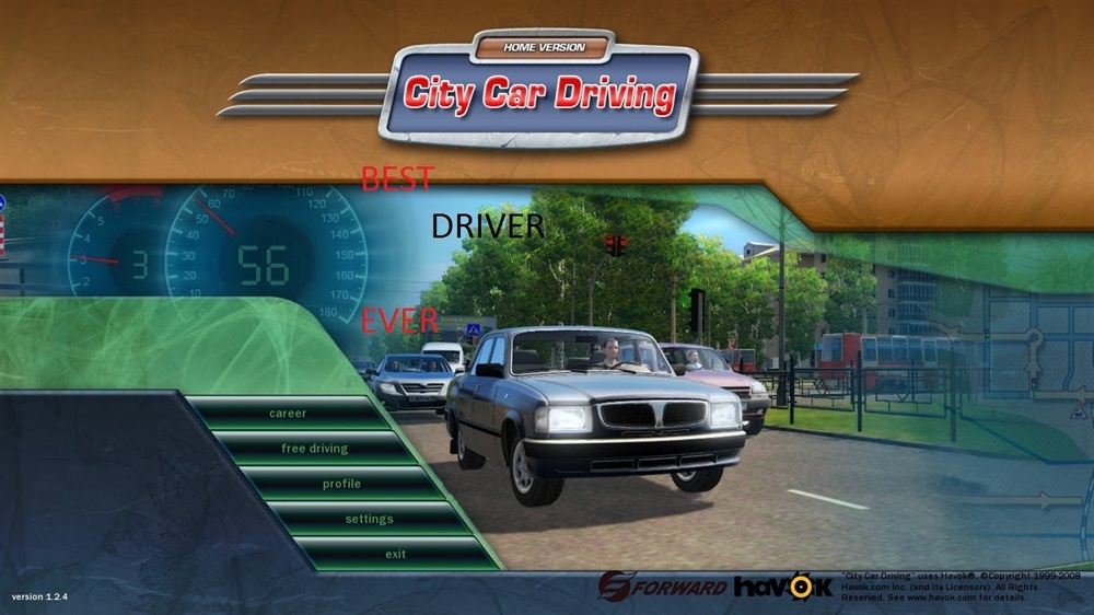 City Car Driving Home Edition Download Poster