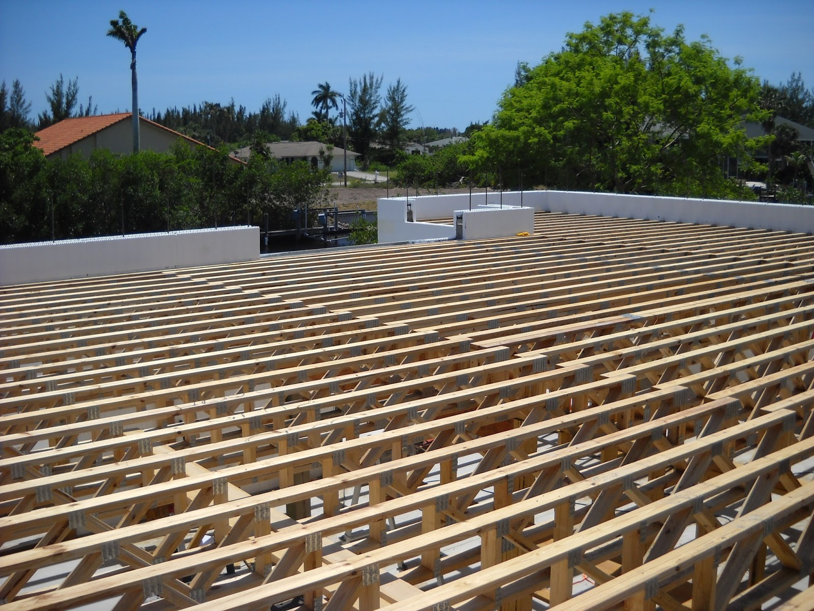 Pine island home builder building icf insulated for Concrete house forms