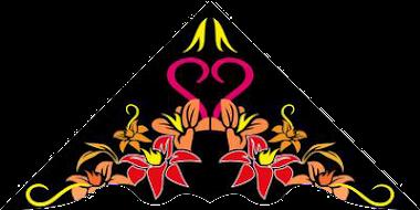 Layang-Layang motif bunga