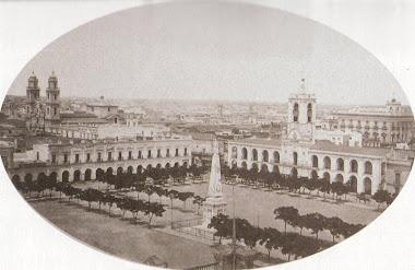 Plaza de la Victoria 1867