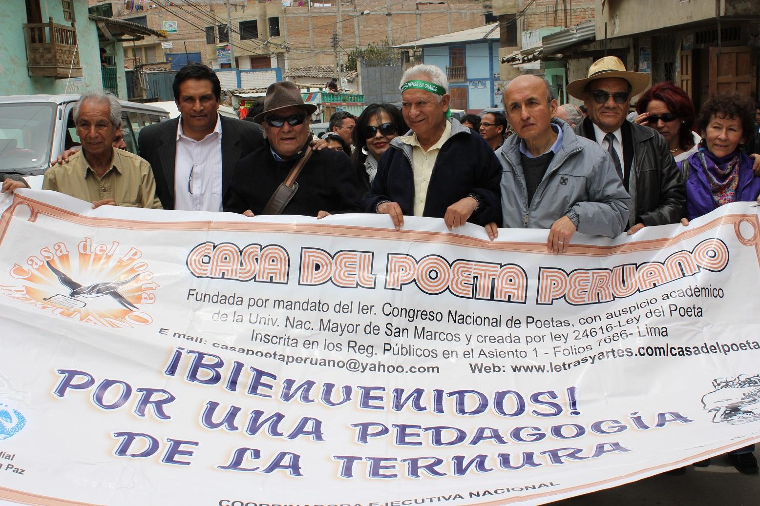 HUMBERTO PINEDO MENDOZA: CONGRESO DE POETAS DE BAMBAMARCA