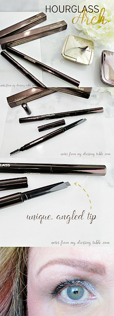 Hourglass Arch Brow Sculpting Pencil Pin notesfrommydressingtable.com