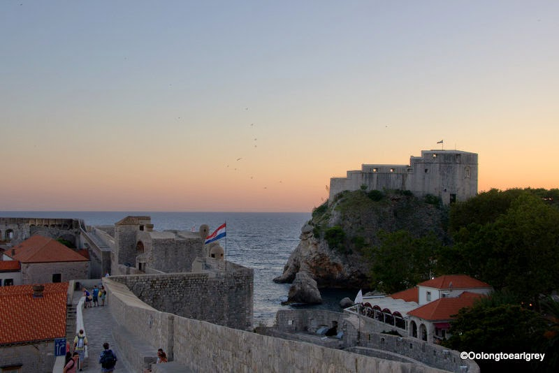 Old Town Wall and Fort Lovrijenac, St Lawrence Fortress, Dubrovnik
