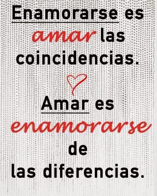 amar es enamorarse