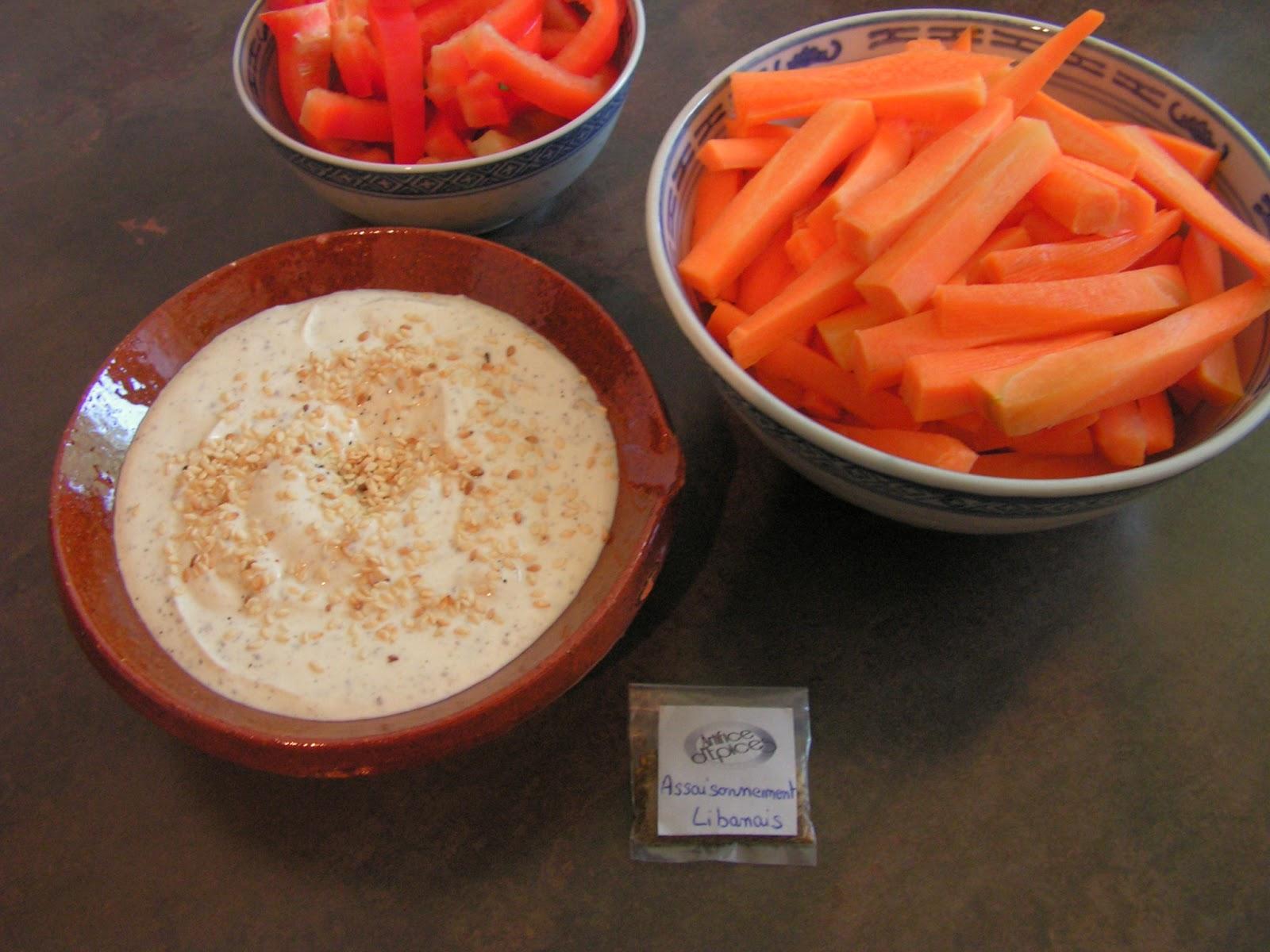les gourmandises de lydie sauce au fromage blanc aux pices libanaises. Black Bedroom Furniture Sets. Home Design Ideas