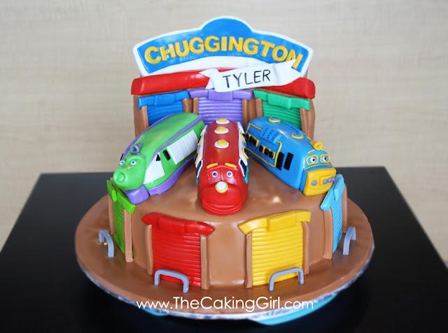 chuggington brewster wilson koko cake