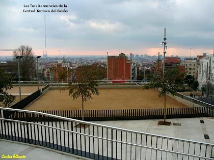 Vista de Barcelona des de la terrassa de la Plaça Salvador Riera. Autor: Carlos Albacete