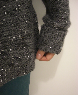 fashion winter 2012 sequin knitted jumper