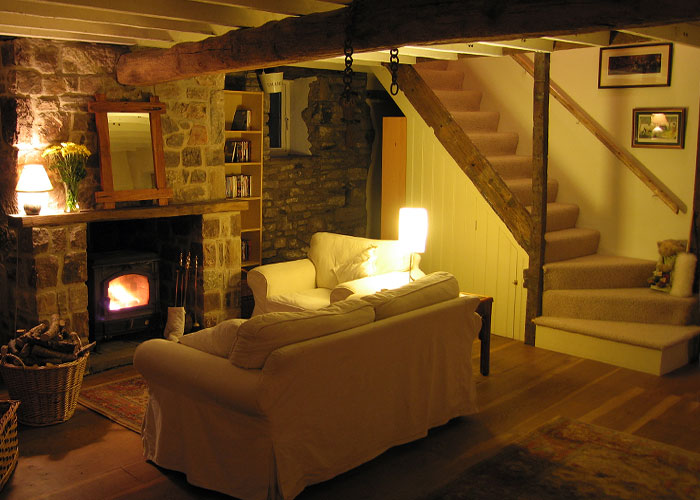 well start with the interior of the johnson cottage photo of the exterior above - Stone Cottage Interiors