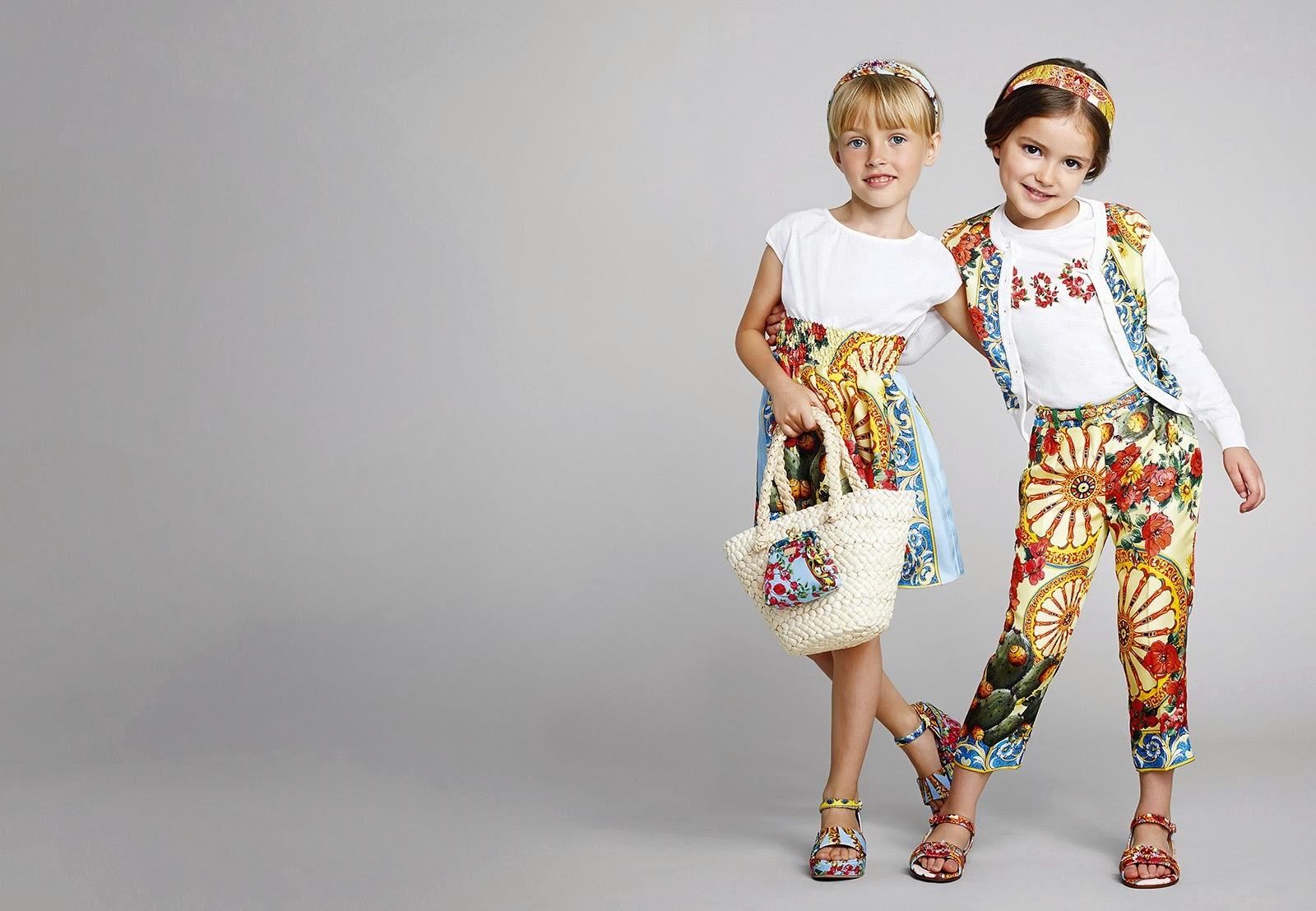 коллекция весна-лето 2014 для детей