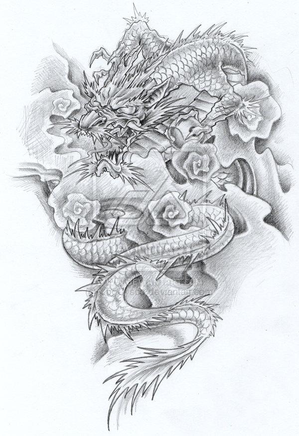 dragon tattoo dragon tattoo design. Black Bedroom Furniture Sets. Home Design Ideas
