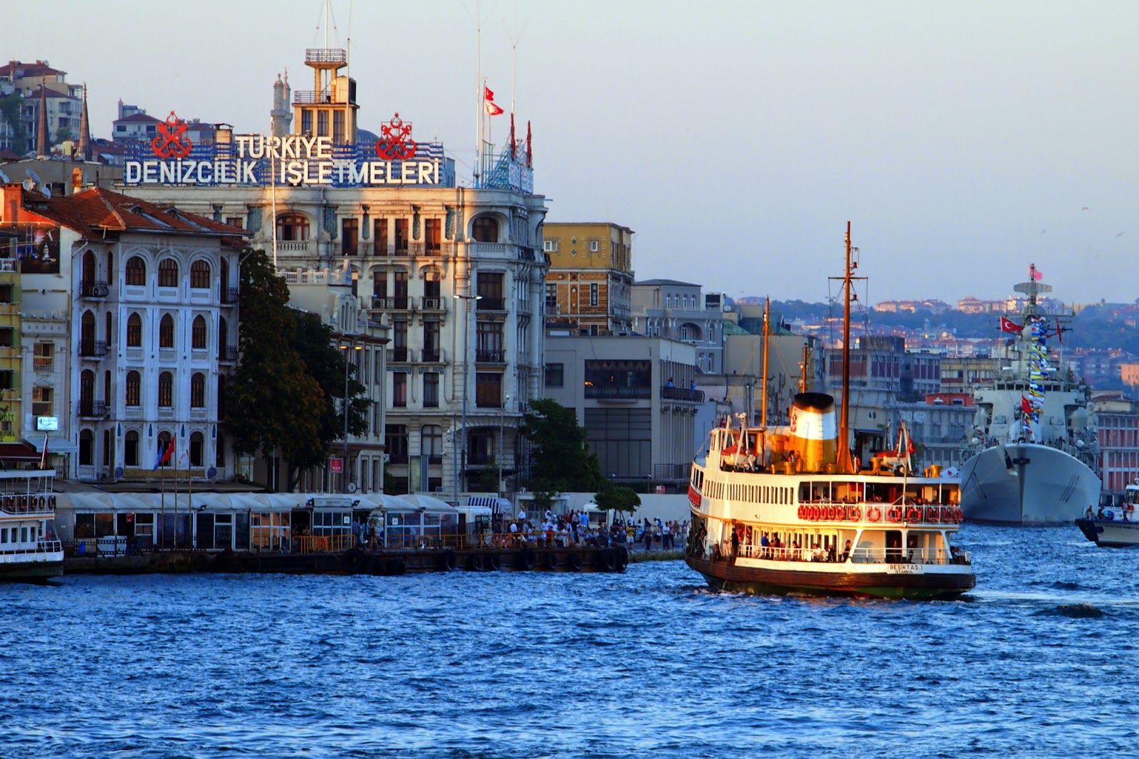 istanbul karaköy port
