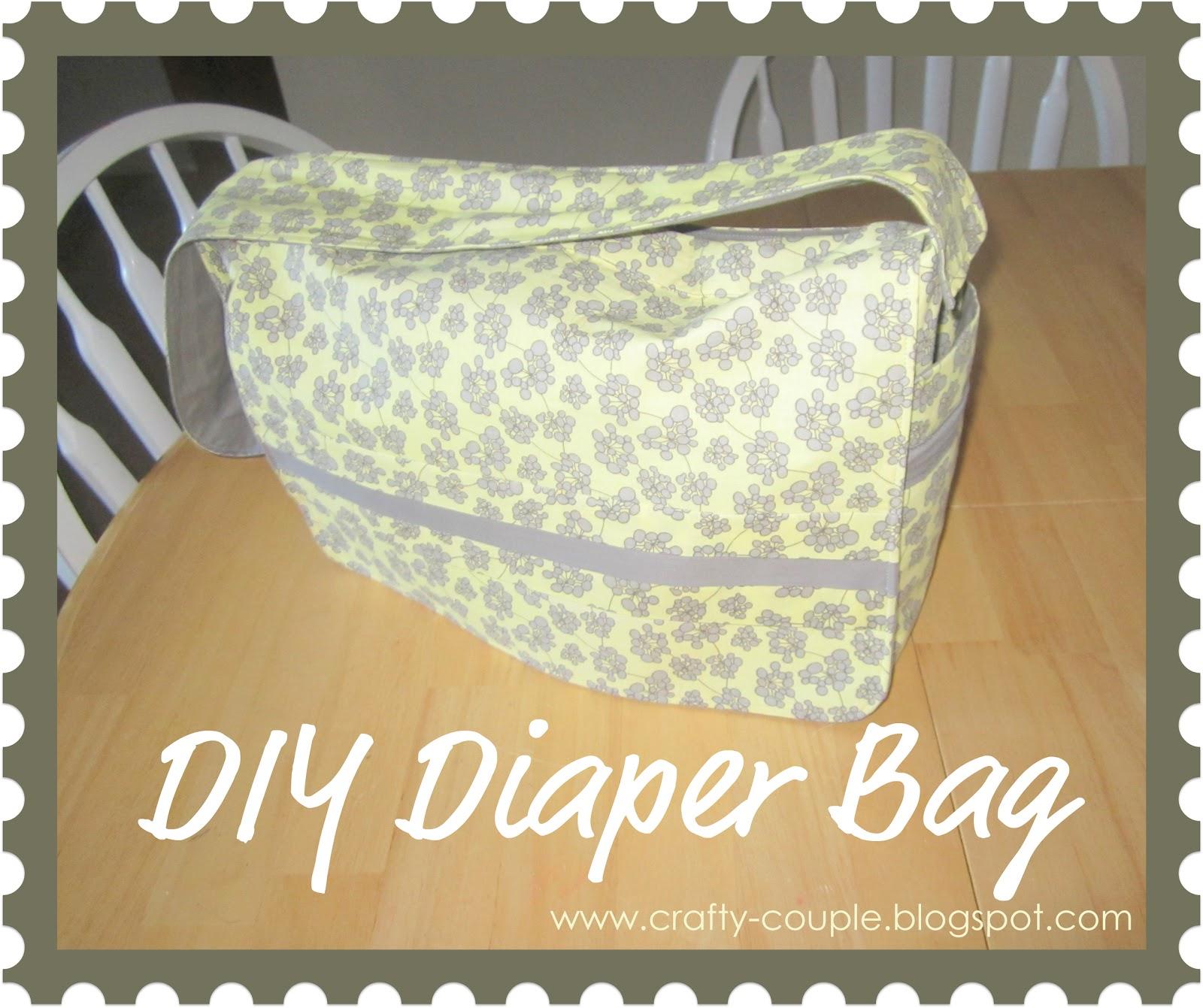 crafty couple: Diaper Bag Tutorial