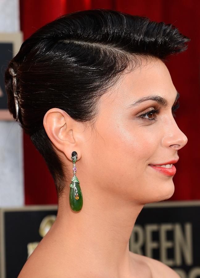 Morena Baccarin Celebrity Earrings Trend 2017