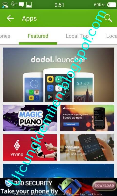 Uento Kiếm tiền trên điện thoại Android