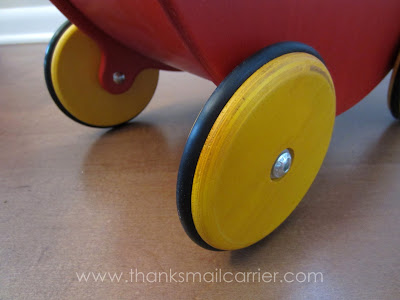 rubber doll stroller wheels