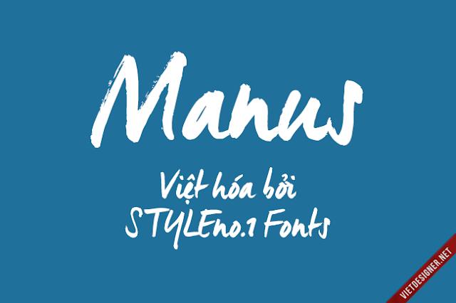 [Hand-write] Manus Việt hóa