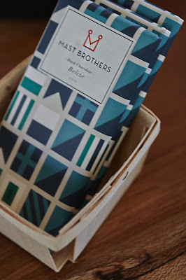 Mast Brothers chocolate at The Room in Stinson Beach