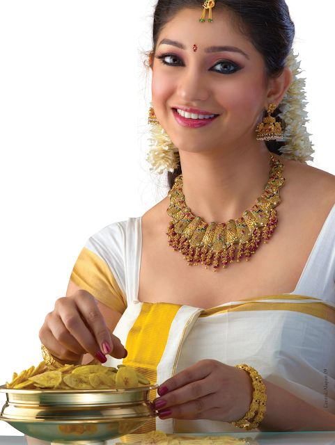 Traditional Malayalee Kerala Jewellery